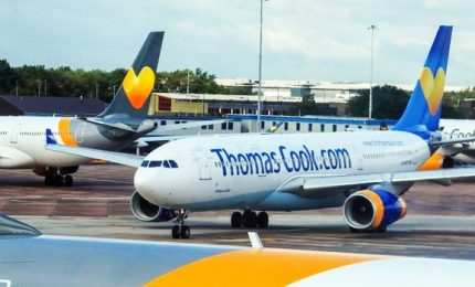 Fallisce Thomas Cook, mezzo milione di turisti nel caos