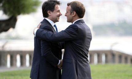 """Migranti, Libia e Ue: piena convergenza tra Conte e Macron. """"Voltare pagina"""""""