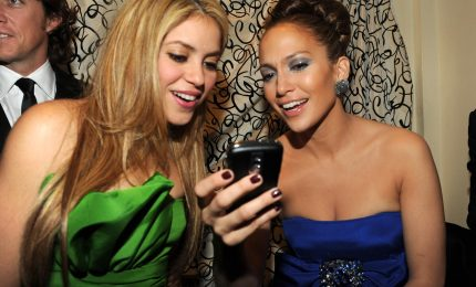 Jennifer Lopez e Shakira nell'halftime del Superbowl 2020