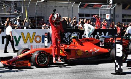 Leclerc infiamma Monza, trionfo Ferrari dopo 9 anni