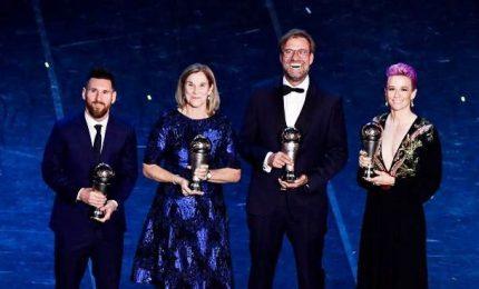Messi e Rapinoe, la Fifa incorona i Best