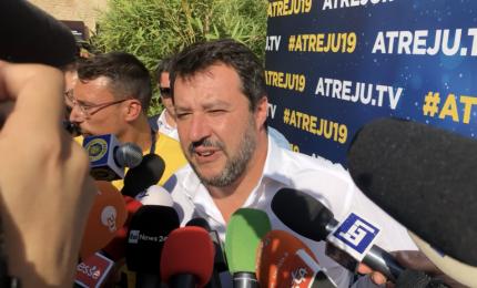 Salvini ospite a Atreju: M5s-Pd non arrivano alla fine, litigano su tutto