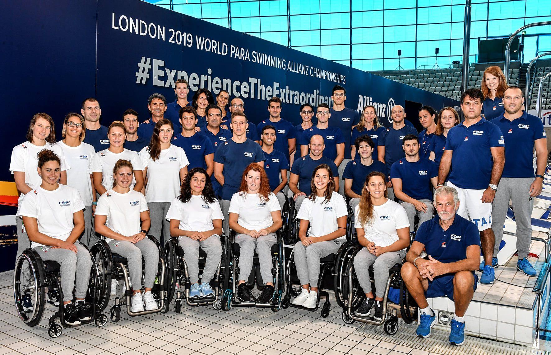 Mondiali paralimpici nuoto, Italia chiude in testa con 50 medaglie