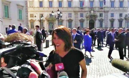 """Nunzia De Girolamo star al Colle. """"Mio Boccia? Mio marito farà bene"""
