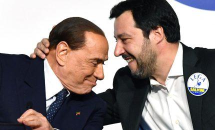 Salvini tenta prima spallata a governo. E Berlusconi riconosce leadership leghista