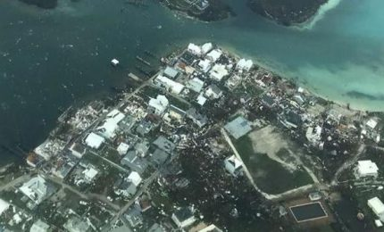 Uragano Dorian, la devastazione alle Bahamas vista dall'alto