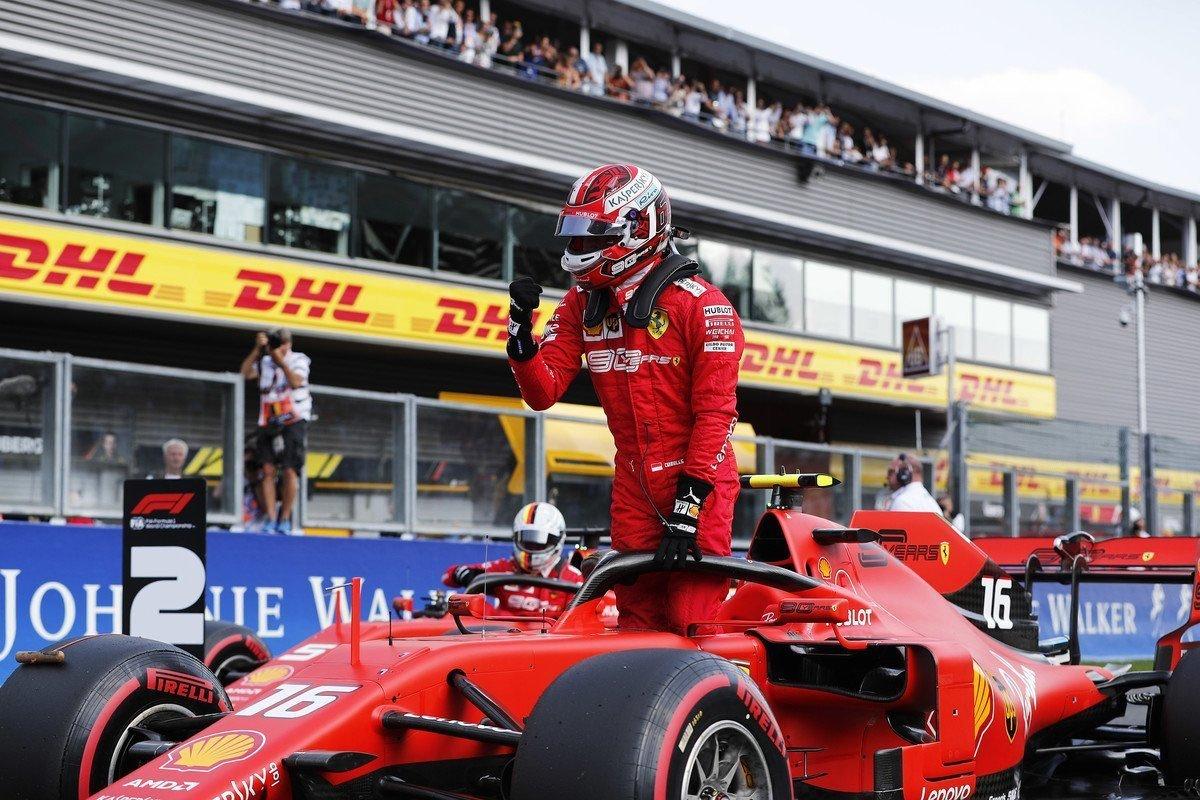 F1: Leclerc festa a metà