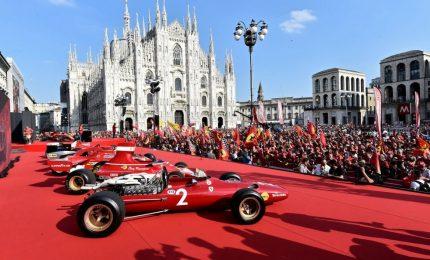 Ferrari, a Milano la festa per i 90 anni di GP Monza e Scuderia