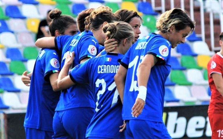 Italia-Georgia 1-0, qualificazioni europei calcio femminile: Girelli e tante occasioni mancate