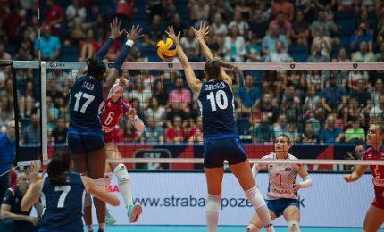 Europeo donne, Italia-Slovaccia 3-0. Azzurre ai quarti