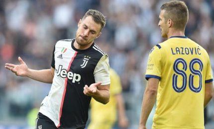 Juventus-Verona 2-1, successo bianconero in rimonta
