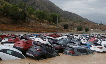 Inondazioni nel sud-est della Spagna, 5 morti e 3500 evacuati