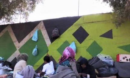 Grecia, campo migranti di Lesbo al collasso