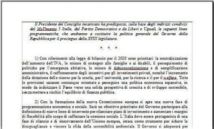 """Nuovo programma M5s-Pd-Leu. E Roma """"vivibile"""" scompare"""