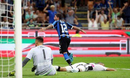 Inter batte Udinese 1-0, sola in vetta a punteggio pieno
