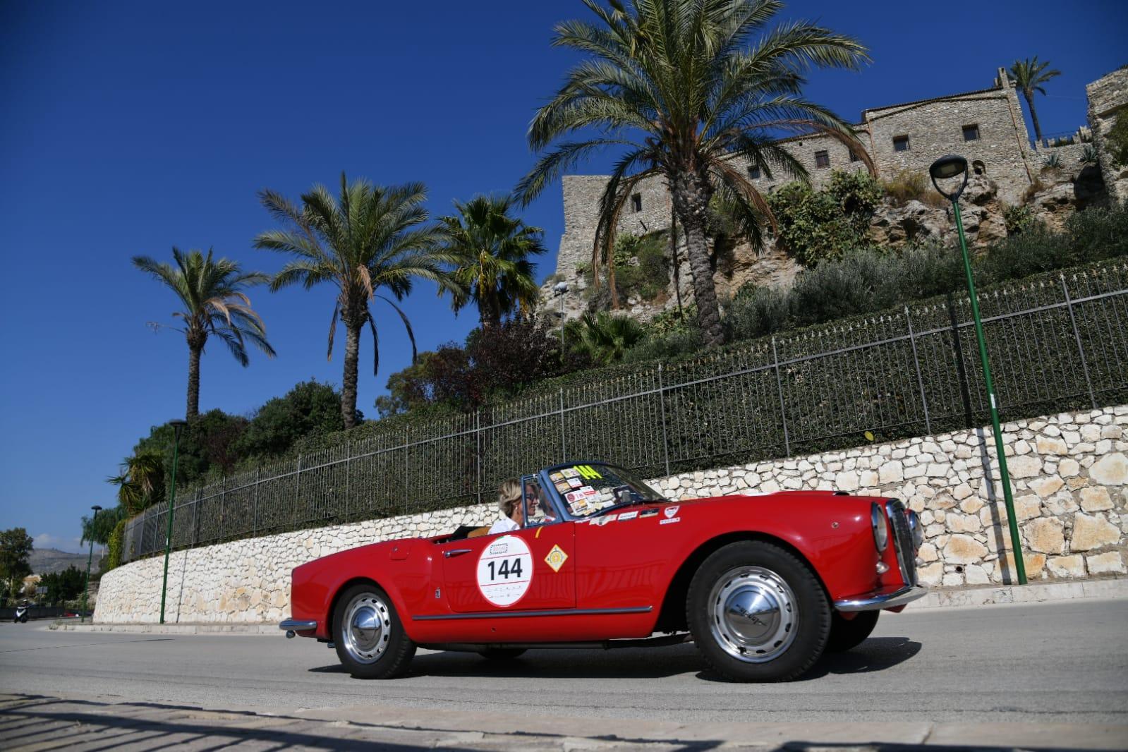 """Targa Florio, le """"fatiche"""" e le bellezze siciliane della seconda tappa"""