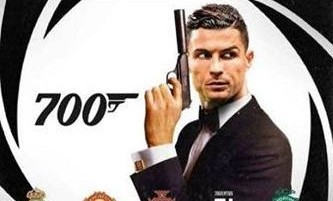 Ronaldo si celebra sui social per i suoi 700 gol