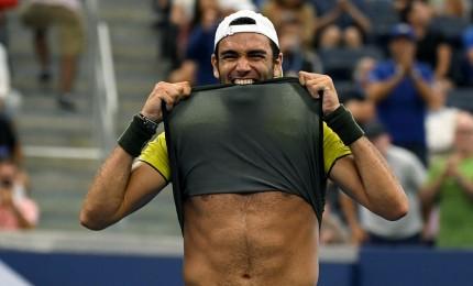"""Berrettini lotta e perde con Federer: """"Voglio di più"""""""
