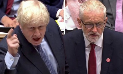 Primo duello tv tra Johnson e Corbyn finisce in parità