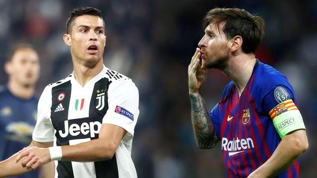 Il 2 dicembre i palloni d'oro, Messi e Ronaldo in pole