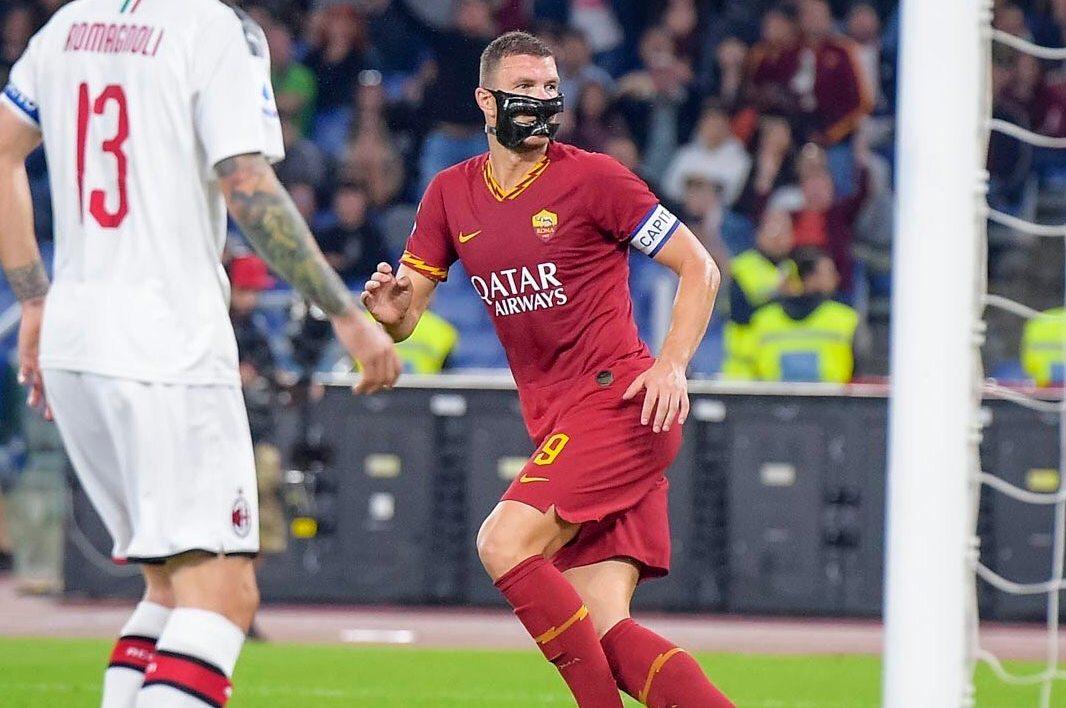 Roma riparte verso l'Europa, il Milan affonda