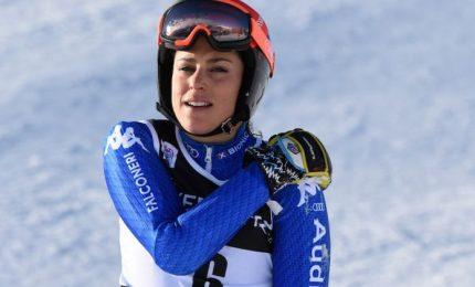 Nono podio stagionale di Federica Brignone, seconda a Garmisch