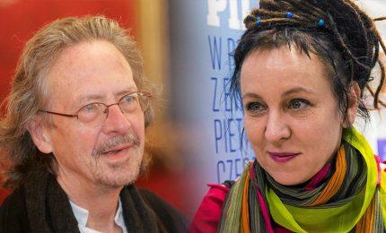 Tokarczuk e Handke vincono Nobel Letteratura 2018 e 2019