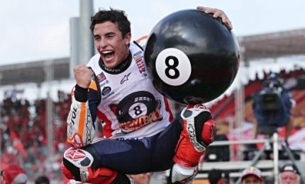 Marquez vince in Thailandia, è l'ottavo mondiale