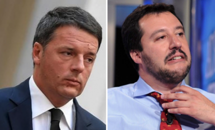 Renzi contro Salvini, da Vespa oggi duello tra i Matteo 'diversi'