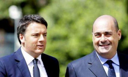 Il Pd stoppa Renzi, ma incalza il governo: cambiare passo