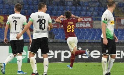 Europa League: rigore beffa al 95', per Roma solo un pari