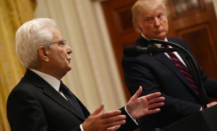 Mattarella alla Casa Bianca, scontro con Trump sui dazi: imposizione dannosa per le economie