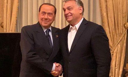 Europa e innovazione tecnologica, Berlusconi incontra Orban