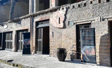 Dopo 30 anni riapre Casa Bicentenario in scavi Ercolano