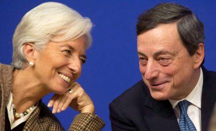 """Il sobrio addio di Mario Draghi: """"La lascio in buone mani"""". Lagarde: è un'eredità che esorta all'eccellenza"""