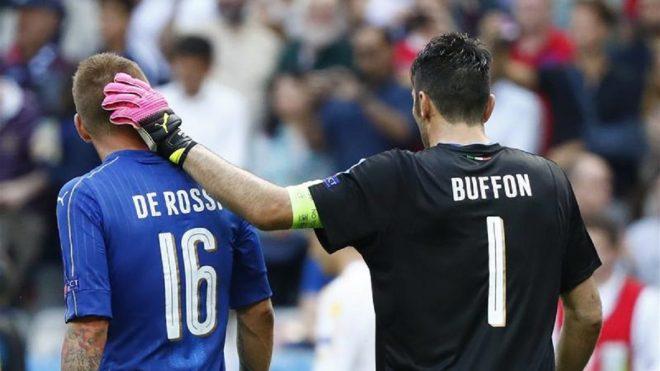 Si pensa a un ritorno Buffon-De Rossi in nazionale