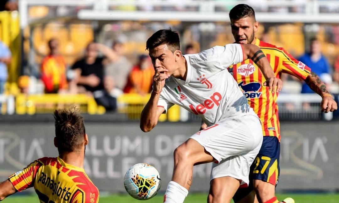 Lecce-Juve 1-1, bianconeri spreconi. Pareggio pesantissimo