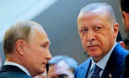 Siria, scade la tregua con i curdi. Oggi Erdogan da kingmaker Putin
