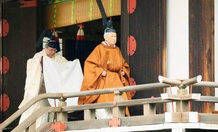 Il Giappone ha un nuovo imperatore, la cerimonia di insediamento