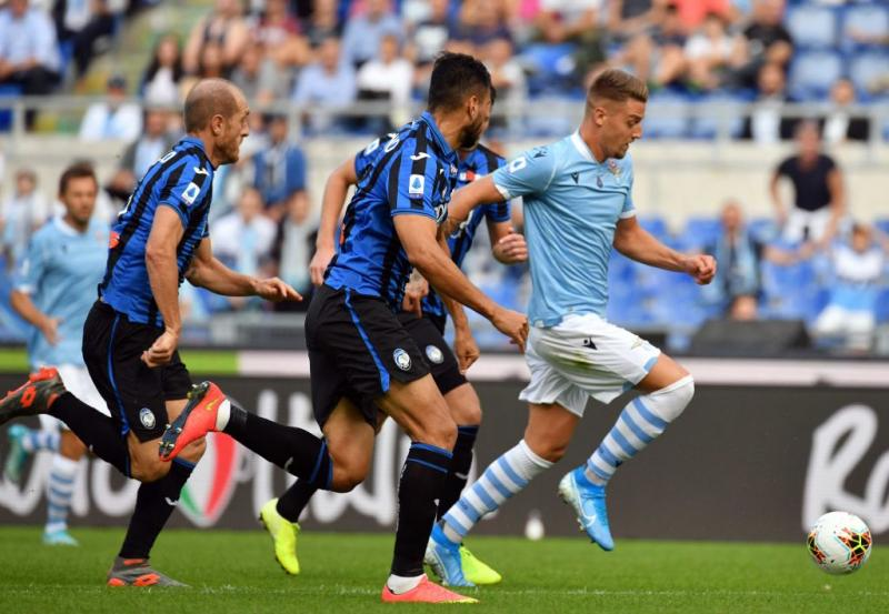 Atalanta show, ma la Lazio rimonta ed è 3-3