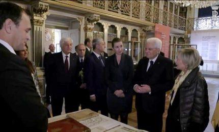 Italia-Danimarca, Mattarella incontra il premier Frederiksen