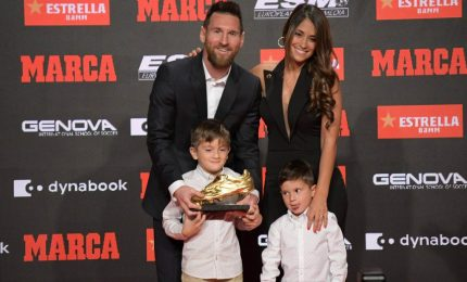 Messi vince la Scarpa d'oro, è la sesta in carriera