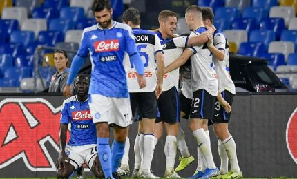 Napoli sbatte contro Atalanta, 2-2 al San Paolo