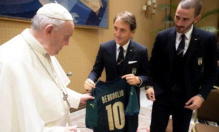 """Azzurri dal Papa, """"anche con palla stracci miracoli"""""""