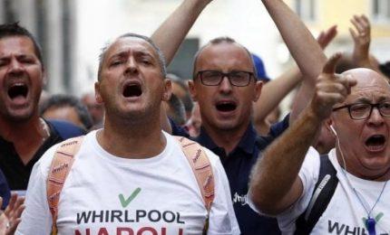 Whirlpool, niente cessione Napoli ma protesta non si ferma
