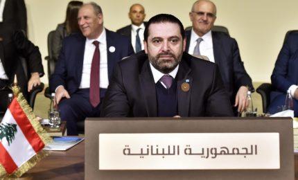Libano, partiti governo accettano piano del premier Hariri