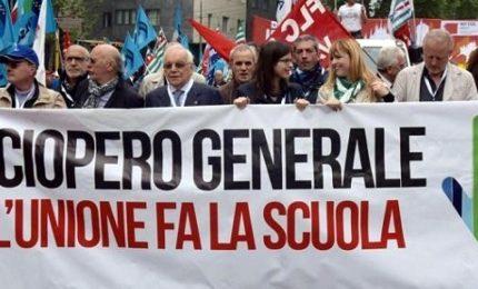 Scuola in piazza, sindacati indicono mobilitazione