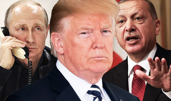 """Trump dichiara vittoria in Siria e toglie sanzioni a Turchia. Siglato un """"accordo storico"""" tra Putin ed Erdogan"""