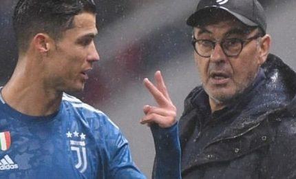 """Juventus-Milan, Sarri: """"Qualificazione ancora apertissima"""""""