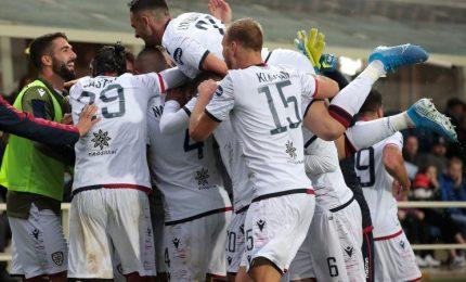 Cagliari da applausi, ko Atalanta vale quarto posto
